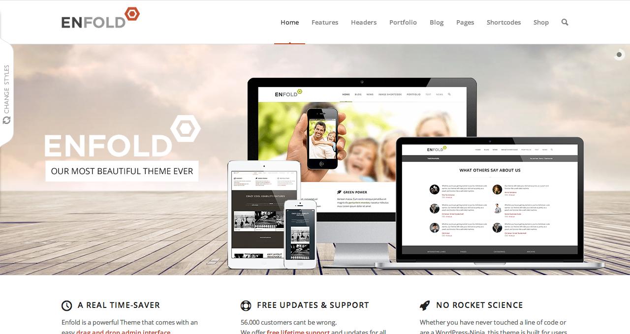 Enfold Theme - Best WordPress Themes 2013